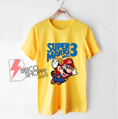 Super Mario Bros Shirt - Funny T-Shirt On Sale
