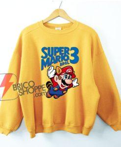 Super Mario Bros Sweatshirt - Funny Sweatshirt On Sale