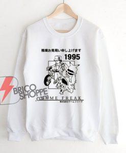 Vintage Pokemon 1995 Game Freak Sweatshirt - Funny Sweatshirt