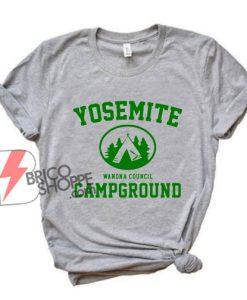 Yosemite women's council campground Shirt - Funny T-Shirt