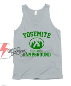 Yosemite women's council campground Tank Top - Funny Tank Top