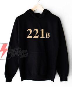 221B Baker Street Hoodie - Funny Hoodie