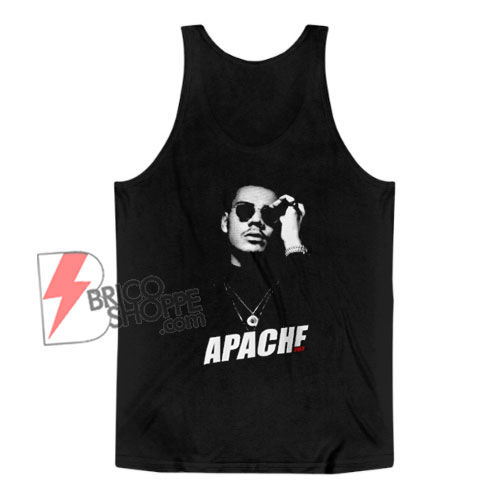APACHE 207 Tank Top - Funny Tank Top