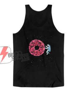 Astronaut Donuts Tank Top - Funny Tank Top