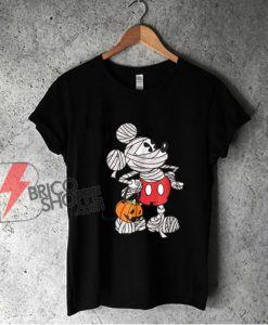 Disney Mickey Mouse Mummy Halloween Shirt - Funny Shirt On Sale