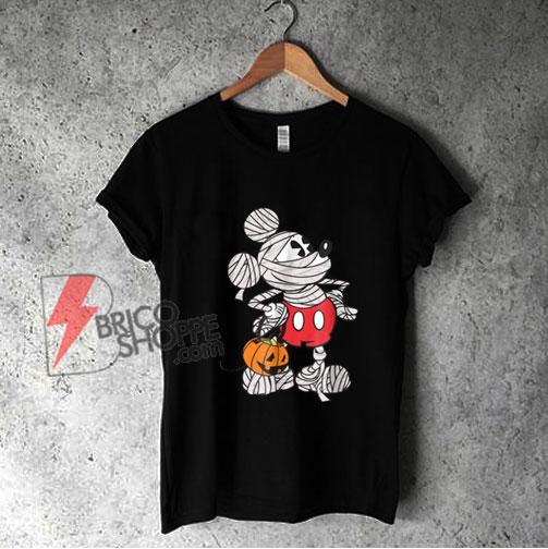 Disney Mickey Mouse Mummy Halloween Shirt - Funny Shirt On Sale