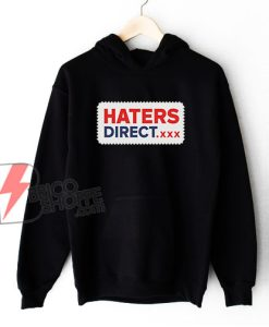 HATERS-DIRECT.xxx Hoodie – Funny Hoodie