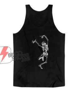 Halloween Tank Top - Dance With Death Classic Tank Top - Funny Tank Top
