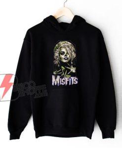Misfits Halloween Women Costume Hoodie - Funny Hoodie