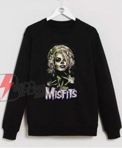 Misfits Halloween Women Costume Sweatshirt - Funny Sweatshirt