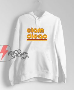 Slam Diego Baseball Hoodie - Funny Hoodie