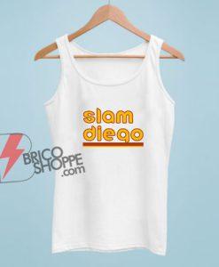 Slam Diego Baseball Tank Top - Funny Tank Top