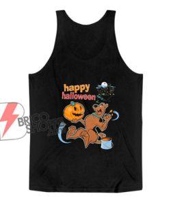 Happy Halloween - Scooby doo Halloween Tank Top - Funny Tank Top