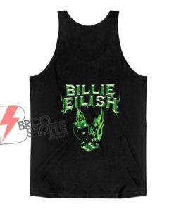 Billie Eilish Neon Green Tank Top – Billie Eilish Tank Top - Funny Tank Top