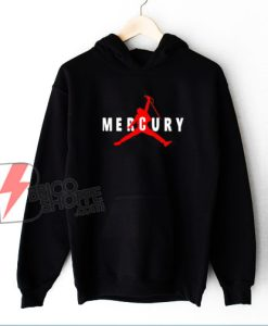 Freddie Mercury Hoodie - Freddie Mercury Air Hoodie - Funny Hoodie On Sale