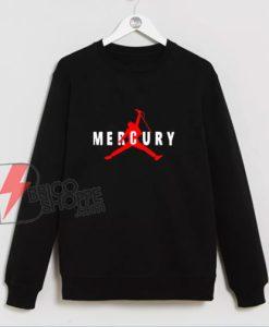 Freddie Mercury Sweatshirt - Freddie Mercury Air Sweatshirt - Funny Sweatshirt On Sale