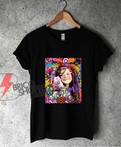 Janis Joplin shirt- QUEEN OF SOUL Funny Shirt On Sale