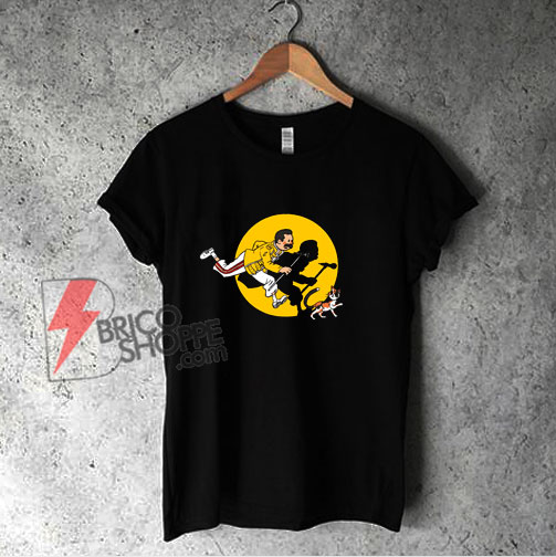 The Adventures of Freddie Shirt - Freddie mercury Shirt - Queen Band Shirt - Parody Shirt