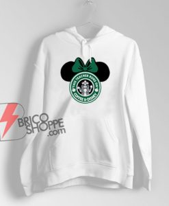 This Teacher Runs On Coffee And Disney Hoodie – Funny Disney Hoodie On Sale – Minnie Mouse Hoodie