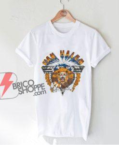 Vintage Van Halen Shirt - Van Halen Live 1982 Shirt - Funny Shirt