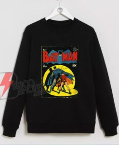 vintage batman Sweatshirt - Fist Batman Christmas Sweatshirt - Funny Sweatshirt On Sale