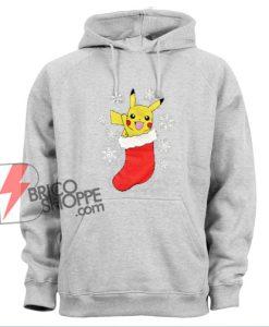 Pokémon Christmas Hoodie - Pokemon Pikachu Christmas Hoodie - Funny Hoodie
