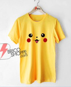 Pokémon Shirt - Pokemon Pikachu Face Shirt - Funny Shirt