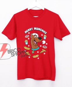 Scooby Doo Merry Munchies Christmas Shirt - Scooby Doo Christmas Shirt – Funny Christmas Shirt