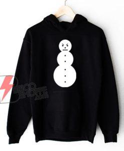 Snowman Infamous Hip Hop Hoodie - Jeezy Christmas Hoodie - Funny Hoodie