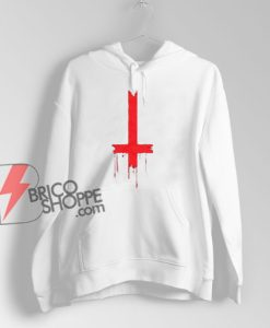 Upside Down Inverted Cross Hoodie – Funny Hoodie