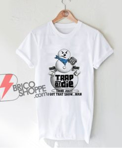 Vintage Young Jeezy Trap Or Die Snowman Shirt - Jeezy Christmas Shirt - Funny Shirt