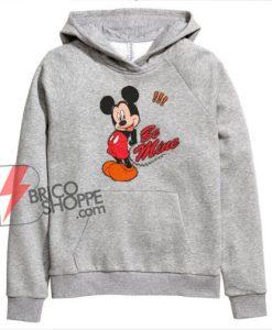 BE MINE Mickey Mouse Hoodie - Valentine Hoodie - Disney Hoodie - Funny Hoodie On Sale