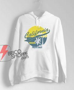 California Hoodie - West Coast Hoodie - California State Hoodie - Retro California Hoodie - Vintage California - California Gift - Cali Hoodie