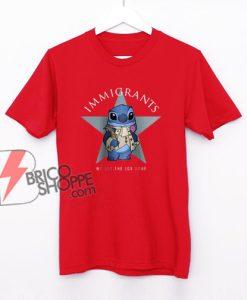 Immigrants Stitch T-shirt Hamilton - We Get The Job Done Shirt - Funny Shirt