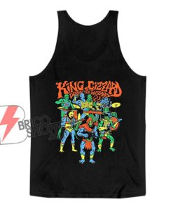 King Gizzard & The Lizard Wizard Merch Master Tank Top - Funny Tank Top On Sale