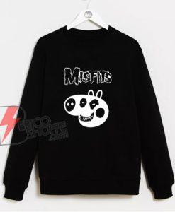 Pig misfits Sweatshirt -misfits Sweatshirt - Pig Sweatshirt - Parody Sweatshirt - Funny Sweatshirt