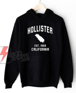 Vintage Hollister California Est 1868 Hoodie- Funny Hoodie On Sale