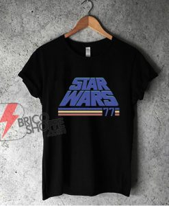 Vintage Star Wars Shirt - Star Wars Classic '77 T-Shirt - Funny Shirt On Sale