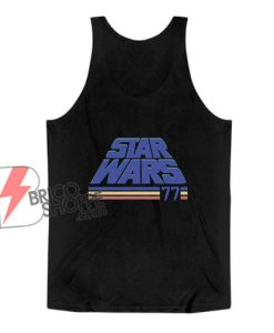 Vintage Star Wars Tank Top - Star Wars Classic '77 Tank Top - Funny Tank Top On Sale