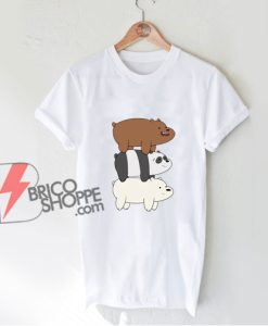 We Bare Bears Mountain shirt - Funny Bears Shirt - Funny Shirt