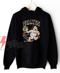 90s Pittsburgh Pirates Fred Flintstone MLB Hoodie - Funny Hoodie On Sale