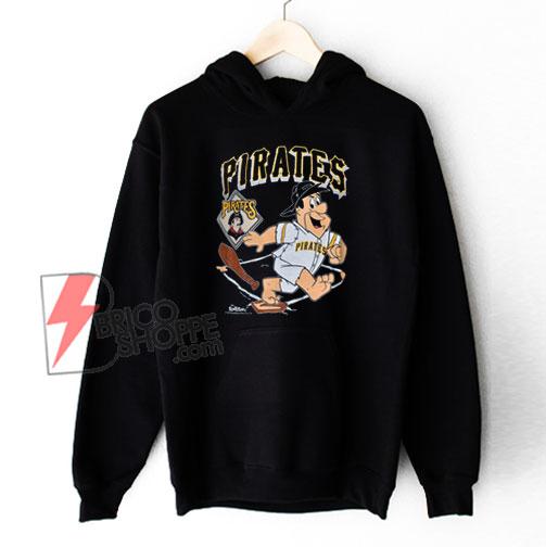 90s Pittsburgh Pirates Fred Flintstone MLB Hoodie - Funny Hoodie On Sale