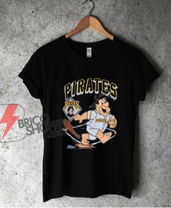 90s Pittsburgh Pirates Fred Flintstone MLB Shirt - Funny Shirt On Sale