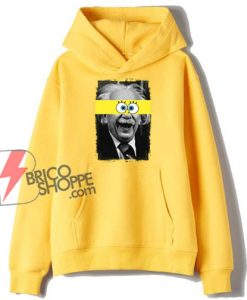 Albert-Einstein-Mashup-With-SpongeBob-Hoodie