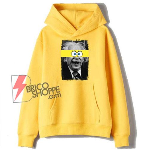Albert-Einstein-Mashup-With-SpongeBob-Hoodie