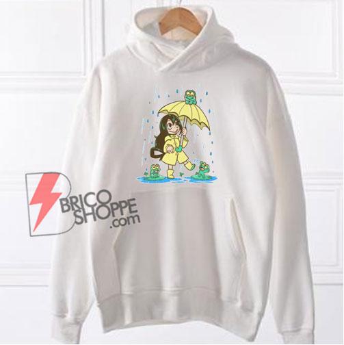 Best Frog Girl Hoodie - Funny Hoodie On Sale