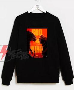 Godzilla-vs-Kong-Poster-Sweatshirt