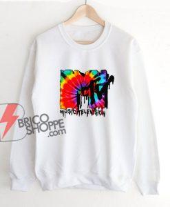 MTV-Dry-tie-logo-Sweatshirt