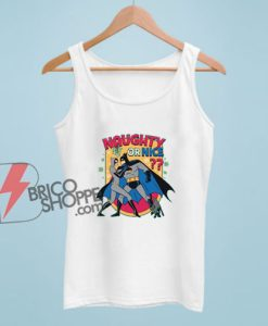 NAUGHTY OR NICE Batman Tank Top – Funny Tank Top