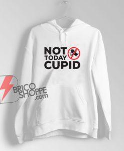 Not today cupid Hoodie - Funny Hoodie On Sale